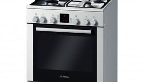 Aragaz mixt Bosch HGV745356R, 4 arzatoare, Gaz, Cuptor electric, Clasa A+, 60 cm, Inox