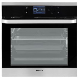 Cuptor incorporabil Beko Innova Chef OIM25901X, Electric, 65 l, 13 Functii, Conexiune USB, Clasa A, Inox