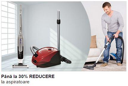 electrocasncie Bosch - reduceri aspiratoare
