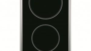 Plita incorporabila Hotpoint DK2KLIX, Vitroceramica, 2 Zone, Touch control, Sticla neagra
