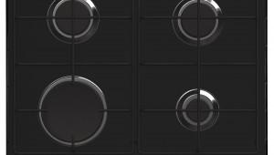 Plita incorporabila Whirlpool GMA 6411 NB, gaz, 4 arzatoare, aprindere electrica, Negru