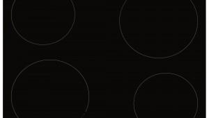 Plita incorporporabila Hansa BHI68314, Inductie, 4 zone de gatit, Vitroceramica, Negru
