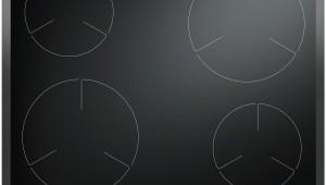 Plita incorporabila Hansa BHI68077, 4 zone de gatit, Timer, Sticla vitroceramica, Negru