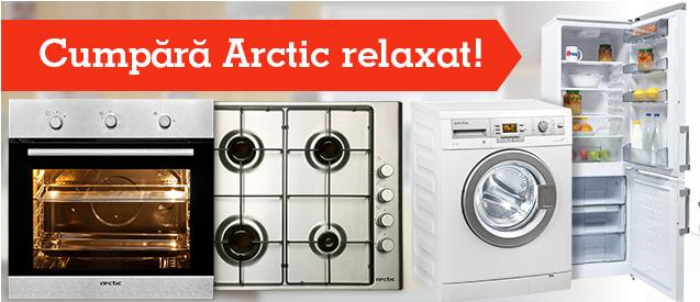 Promotie Arctic. Testeaza orice produs timp de 30 de zile!