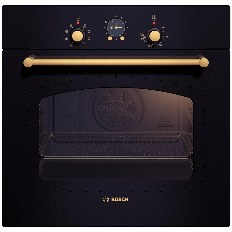 Cuptor incorporabil rustic Bosch HBA23RN61, Electric, Multifunctional, 7 Functii, Grill, Clasa A, Negru