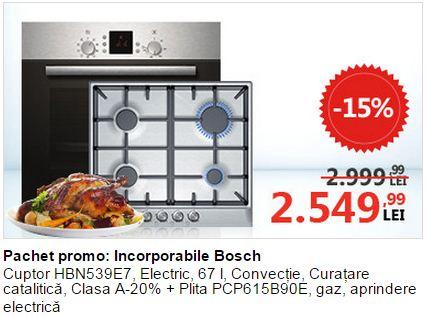 electrocasnice Bosch - reduceri incorporabile