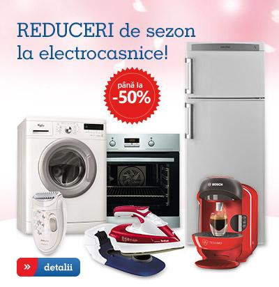 Reduceri la electronice si electrocasnice!