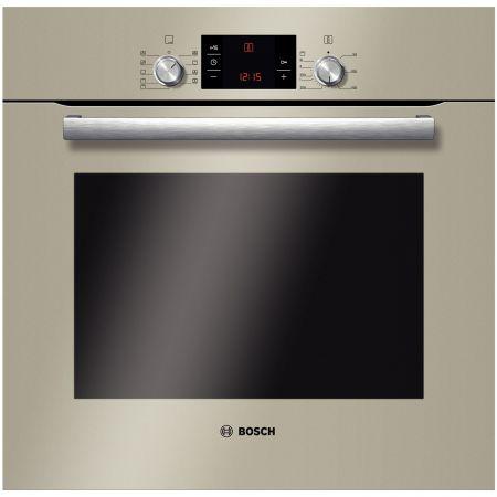 Cuptor incorporabil Bosch HBG33B530, Electric, Multifunctional, Convectie, Curatare EcoClean, Grill, Clasa A, Sticla quartz