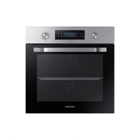 Cuptor incorporabil Samsung NV66M3531BS, Electric, 66 l, Display Led, Dual Cook, Clasa A, Inox