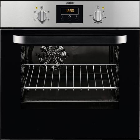 Cuptor incorporabil Zanussi ZOB442XU, Electric, Multifunctional, 57 l, Grill, Clasa A, Inox